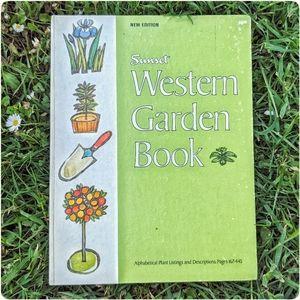 1967 vtg 'Western Garden Book'
